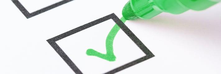 Printhead Checklist